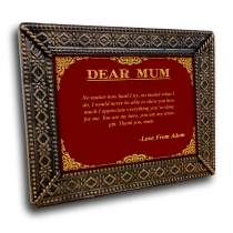 Mother Gifts Metal Frame 17