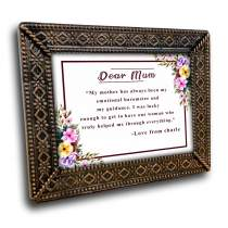 Mother Gifts Metal Frame 61