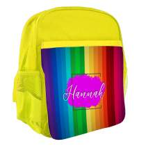 Patterned Backpack Yellow 430