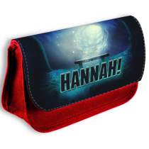 Gaming Pencil Case Red 533