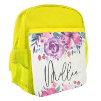 Floral Backpack Yellow 575
