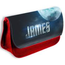 Gaming Pencil Case Red 605