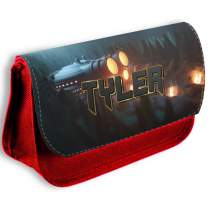 Gaming Pencil Case Red 613